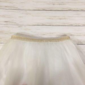 Cat & Jack Bottoms - Girls White tutu skirt